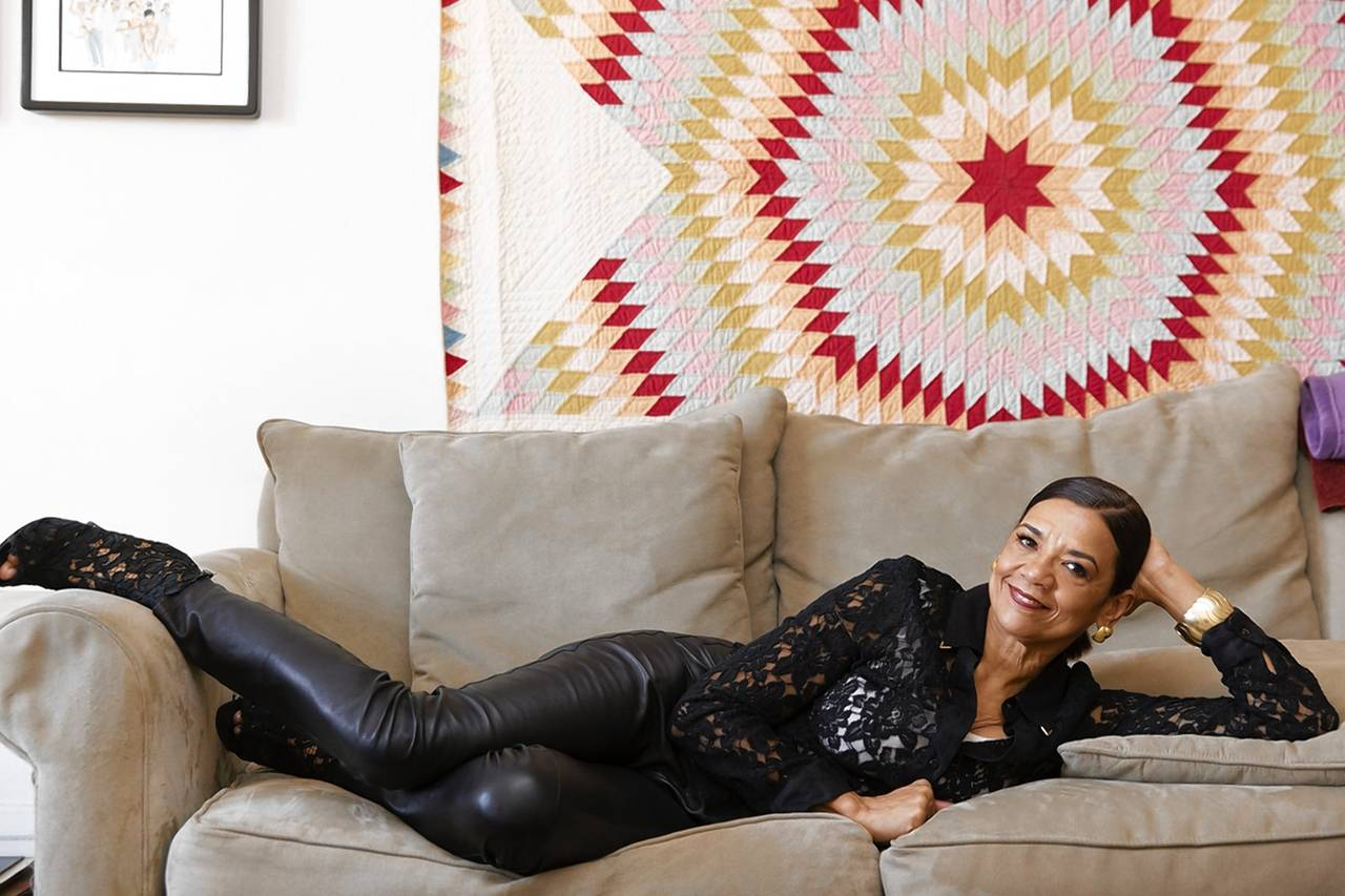 Sonia Manzano in her New York City apartment. Photo: Juliana Sohn for The Wall Street Journal