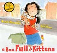 Box full of kittens book cover