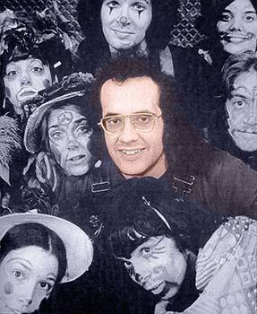 John-Michael Tebelak with cast