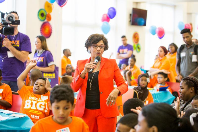 Sonia Manzano shares background on her life growing up in the Bronx