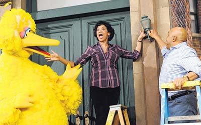 Familiar Face on 'Sesame Street' Tells of Her Own Childhood