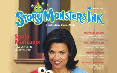 """Sonia Featured in """"Story Monsters Ink"""""""