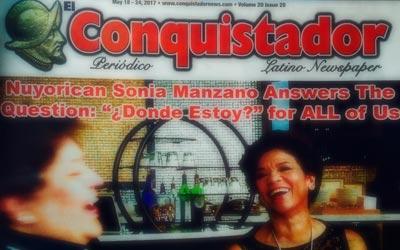 Read Sonia's El Conquistador Interview