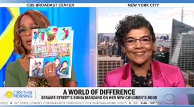 Sonia with Gayle King